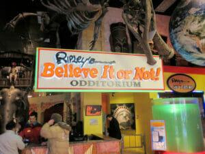 Ripleys Believe It or Not i New York