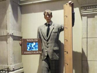 Ripleys Believe It or Not i New York - Høyeste mann