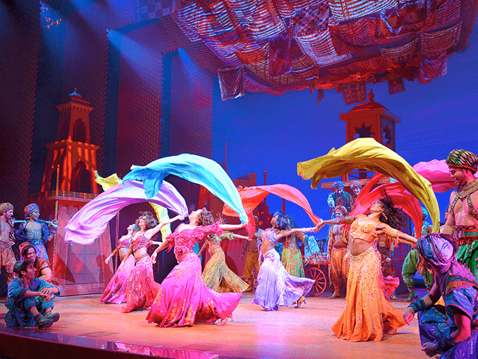 Aladdin Broadway Tickets - Dans
