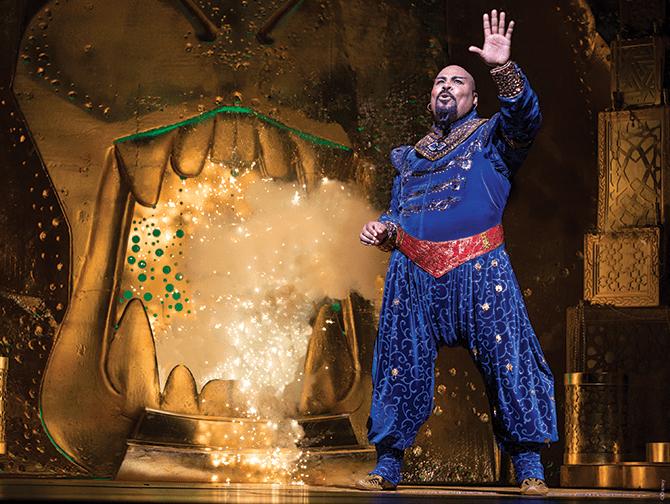 Aladdin Broadway Tickets - Genie