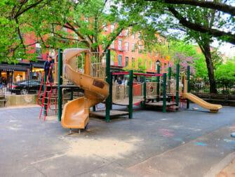 Lekeplasser i New York - Bleeckerstreet