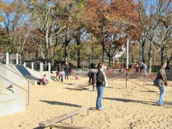 Lekeplasser i New York- Central Park sandkasse
