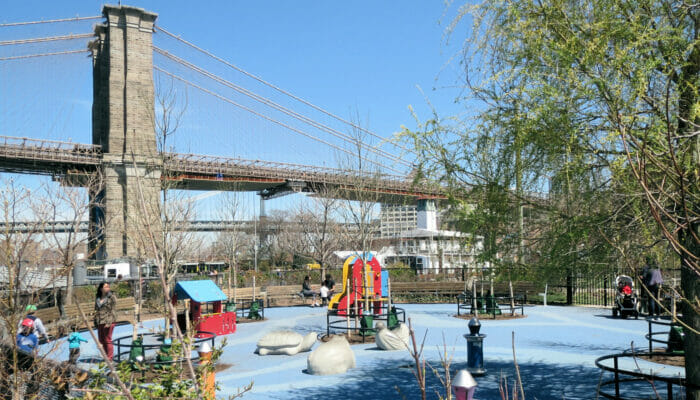 Lekeplasser i New York - Pier 1