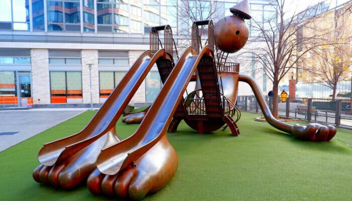 Lekeplasser i New York - Silver Towers Playground