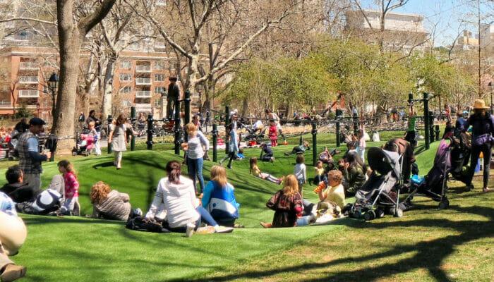 Lekeplasser i New York - Washington Square Playground