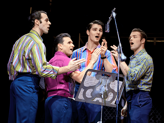 Jersey Boys i New York Tickets - Frankie Valli and The Four Seasons