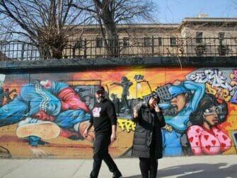 Hiphop-turer i New York - Gate i Harlem