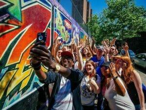 Hiphop-turer i New York