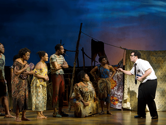 The Book of Mormon Broadway Tickets - i Uganda