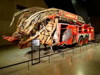 9-11 Museum i New York - Brannbil