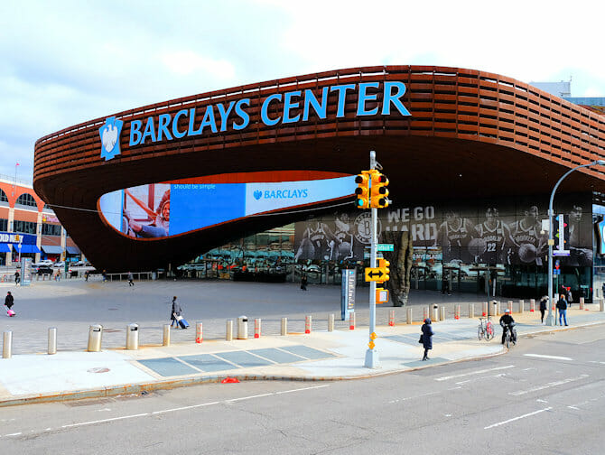 Guidet tur til Brooklyn - Barclays Center
