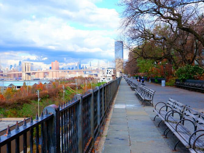 Guidet tur til Brooklyn - Brooklyn Heights Promenade