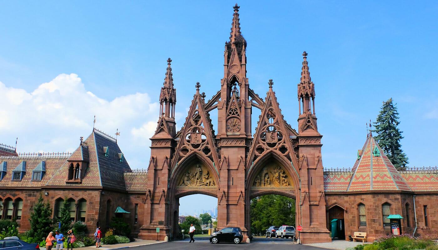 Guidet tur til Brooklyn Inngang til Green wood Cemetery