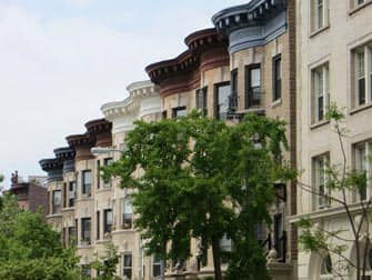 Guidet tur til Brooklyn - Prospect Park hus