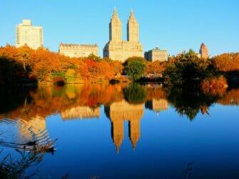 Guidet tur til steder for filminnspilling i Central Park - The Reservoir