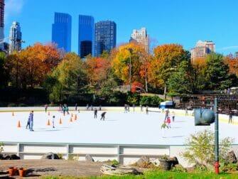 Guidet tur til steder for filminnspilling i Central Park - Wollman Rink