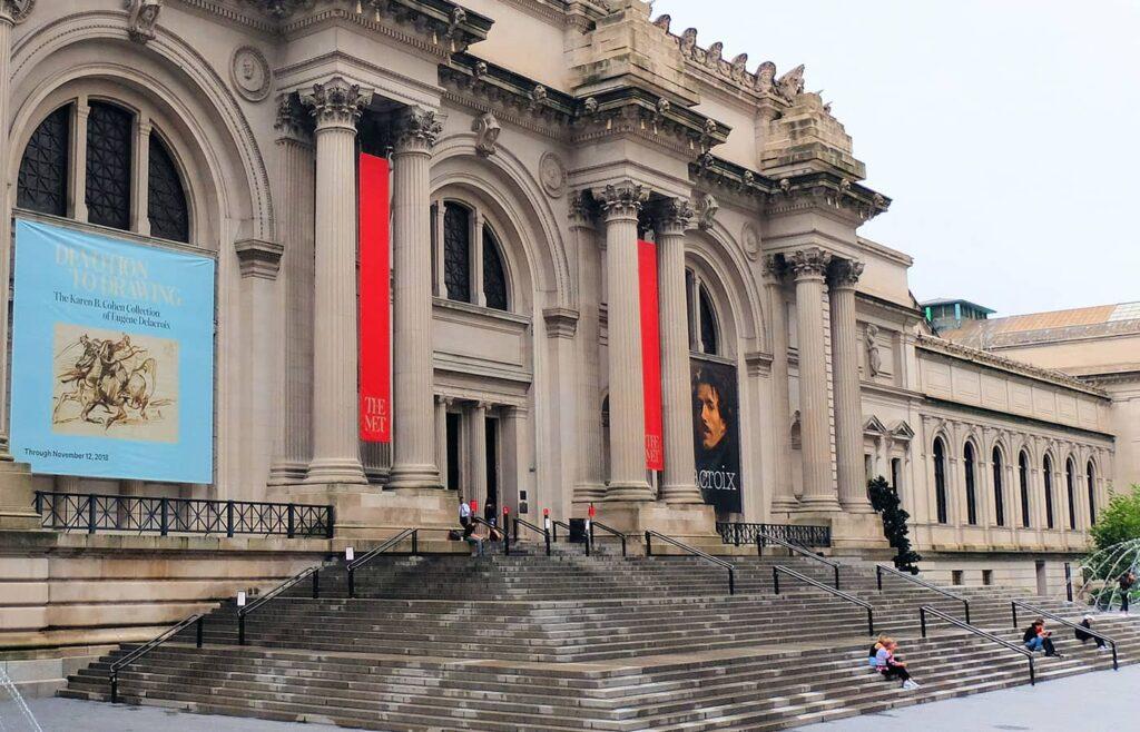 Guidet tur til Gossip Girl - Trappene til The Met