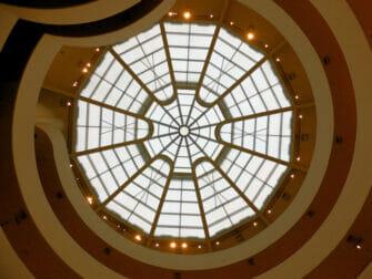 Guggenheim Museum i New York - Innsiden