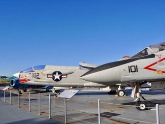 Intrepid Sea, Air and Space Museum in New York - Kampfly