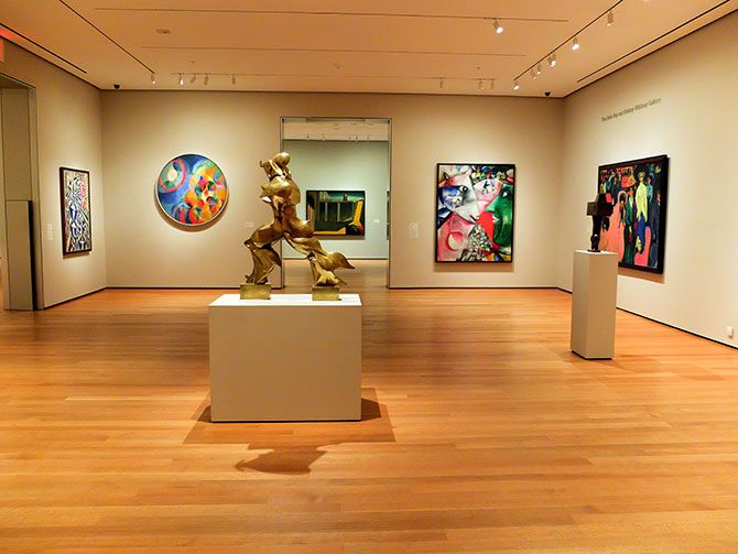 MoMA Museum of Modern Art i New York - Tomt museum