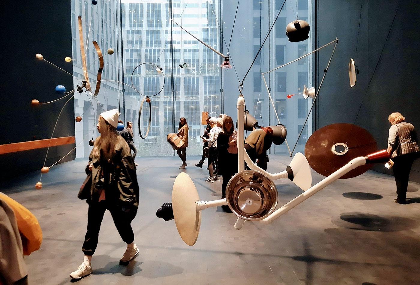 MoMA Museum of Modern Art i New York - Montering