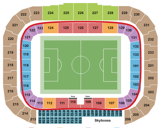 New York Red Bulls Tickets - Red Bull Arena salkart