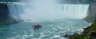 Dagstur fra New York til Niagara med fly