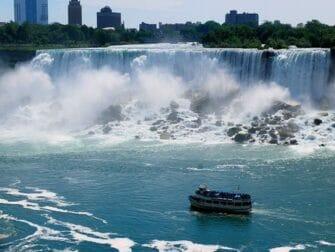New York til Niagara Falls 2-dagers tur - Båttur