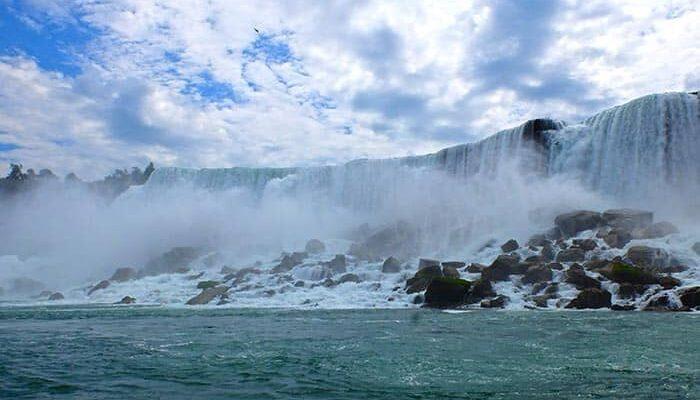 New York til Niagara Falls 2-dagers tur - Horseshoe Falls
