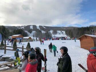 Ski eller Snowboard dagstur i New York - Hunter Mountain