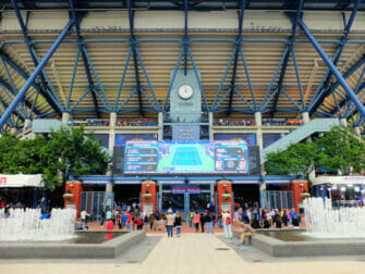 US Open Tennis tickets - Arthur Ashe Entree