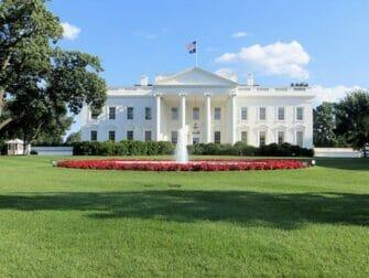 New York til Washington D.C busstur - Det hvite hus