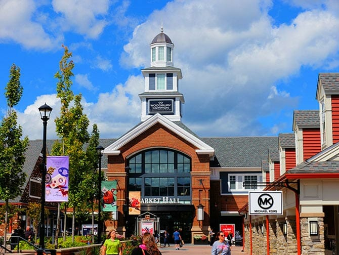 Woodbury Common Premium Outlet Center i New York
