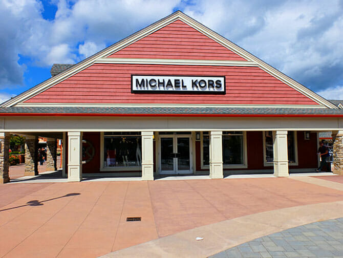 Woodbury Common Premium Outlet Center i New York - Michael Kors
