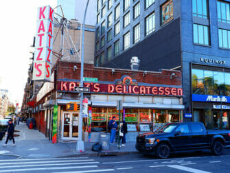 Lower East Side i New York - Katzs Deli