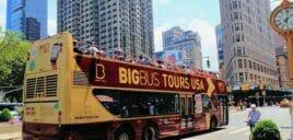 Hop-on-hop-off-buss i New York
