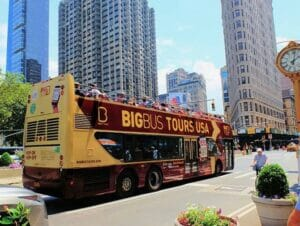 Hop-on-hop-off-buss i New York