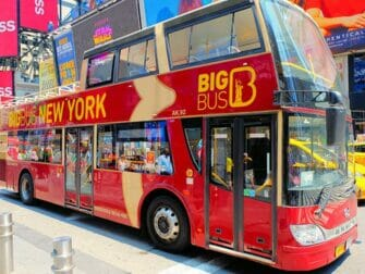 Hop-On Hop-Off buss i New York - Big Bus