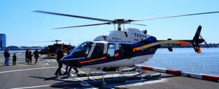 Helikoptertur og ruter i New York