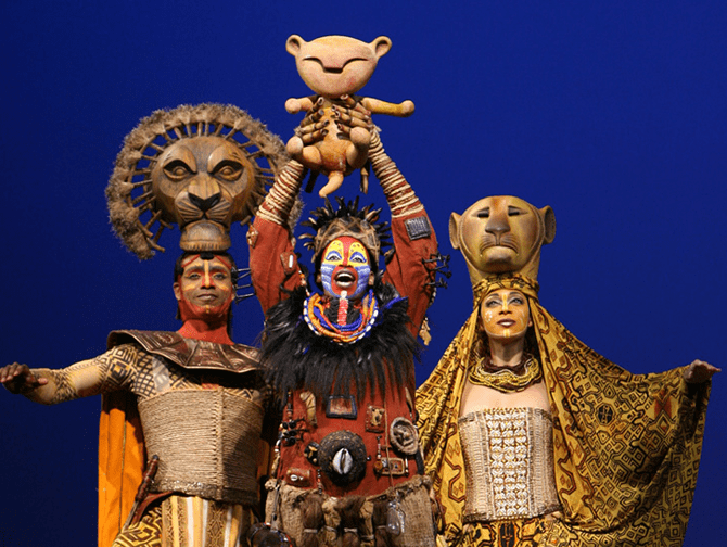 The Lion King Broadway Tickets - Rafiki