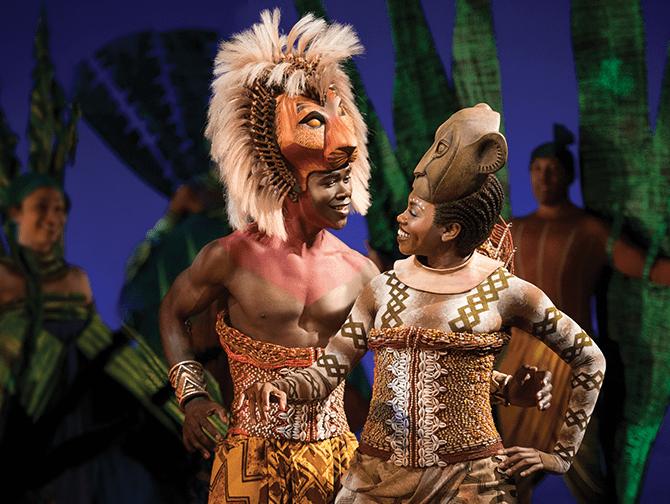 The Lion King Broadway Tickets - Simba og Nala