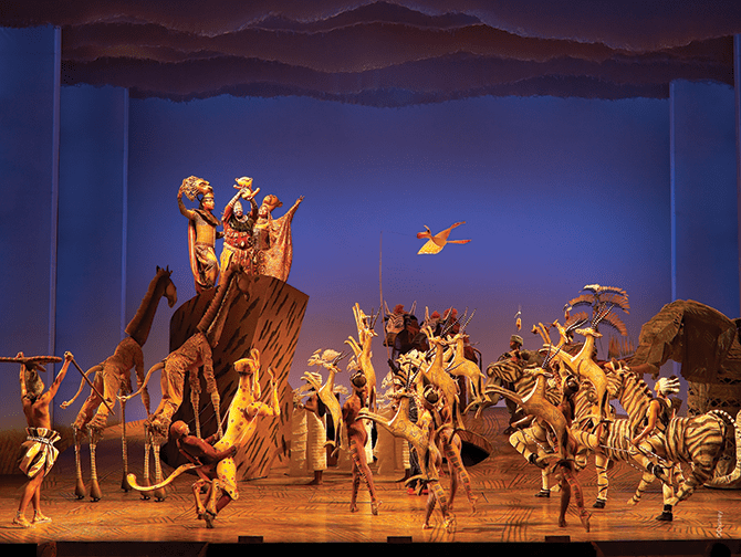The Lion King Broadway Tickets - The Circle of Life