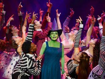 Wicked Broadway Tickets - Elphaba og cast