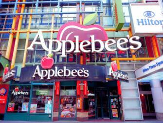 Spise ute med barn i New York - Applebees