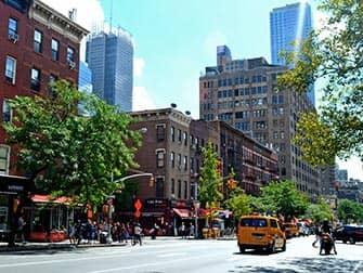 Hells Kitchen i New York - 9th Avenue