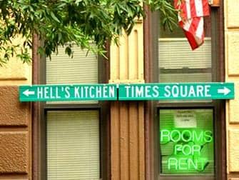 Hells Kitchen i New York - Retninger