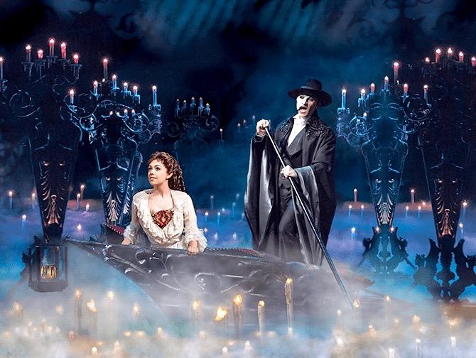 The Phantom of the Opera Broadway Tickets - Båttur