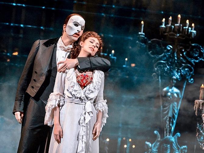 The Phantom of the Opera Broadway Tickets - Fantomet og Christine