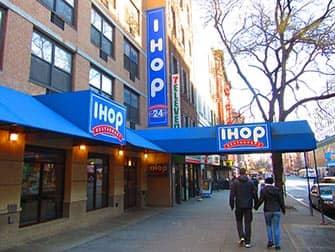 Typisk amerikansk mat i New York - IHOP