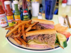 Typisk amerikansk mat i New York